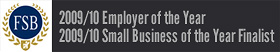 FSB 2009/2010Employer of the year/Small business of the year finalist